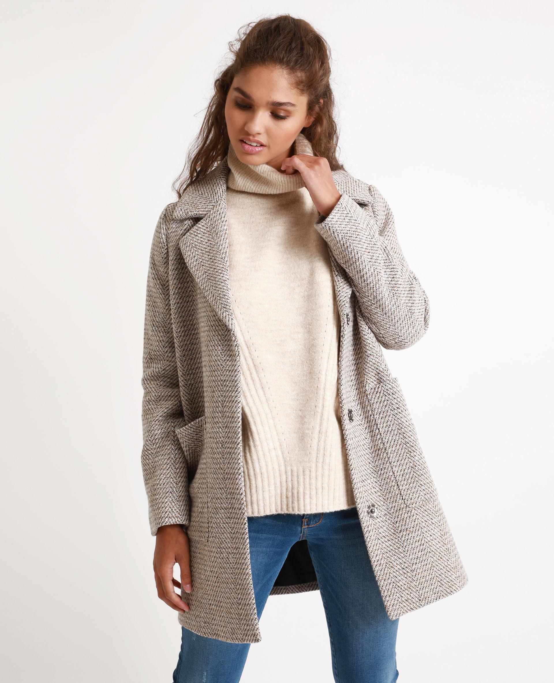 Manteau laine femme pimkie