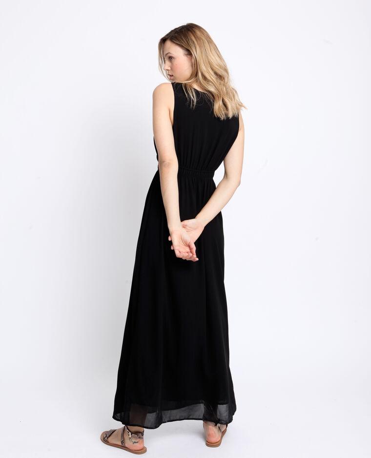 Robe longue empire noir