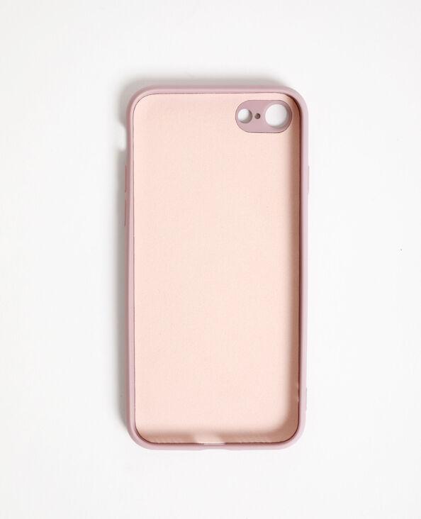 Coque souple compatible iPhone rose