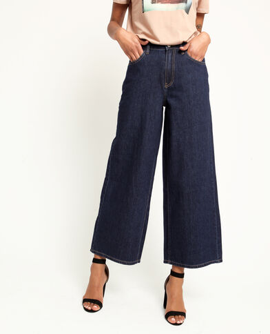 Jean wide leg bleu