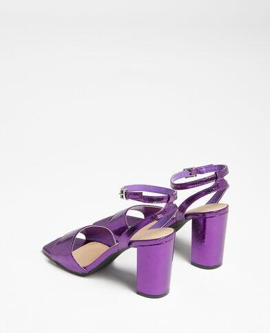 Sandalen met bandje violet