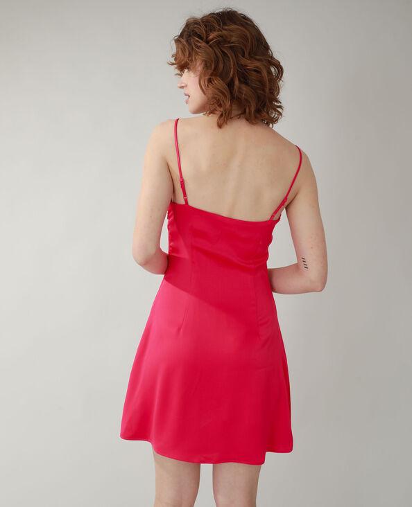 Satijnen jurk roze - Pimkie