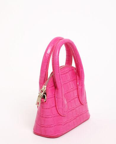 Petit sac rigide rose