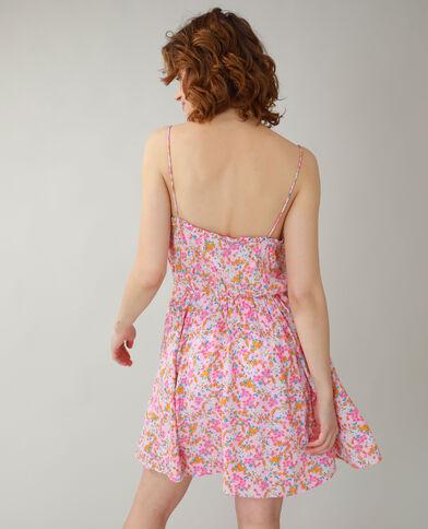 Bloemenjurk roze - Pimkie