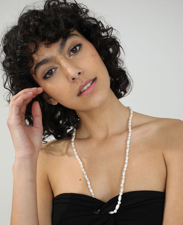 Top dos nu et perles noir - Pimkie