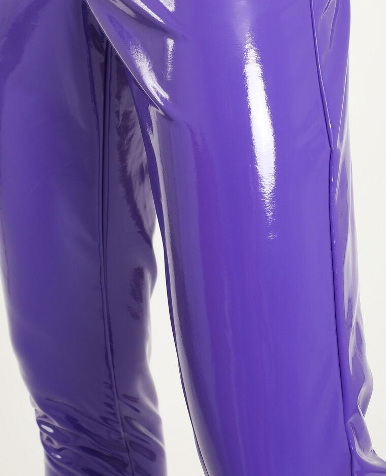 Legging vinyl lilas - Pimkie