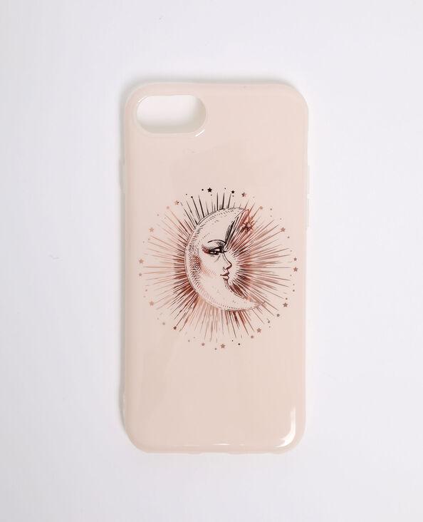 iPhone-hoesje met sterrenprint grijs