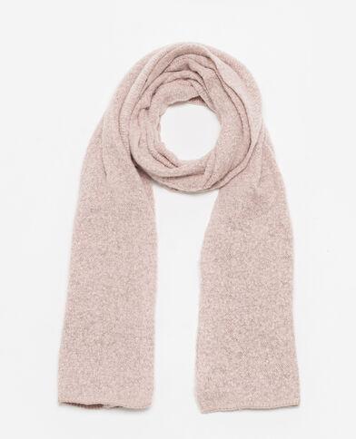 Foulard van zachte stof roze