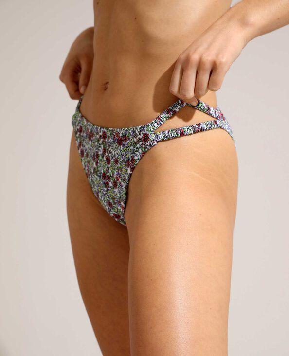Bikinislip met bloemenprint ecru - Pimkie