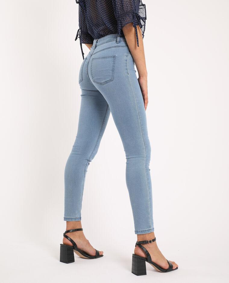 Jegging met middelhoge taille Jeans blauw