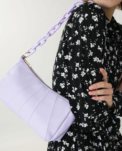 Kunstleren handtas violet - Pimkie
