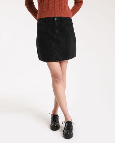 Jupe en jean noir