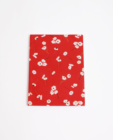 Notebook rouge