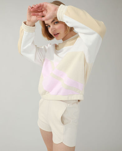 Sweater beige - Pimkie