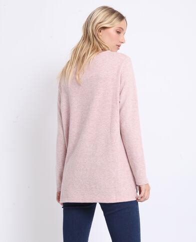 T-shirt doux rose