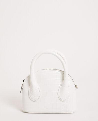 Kleine handtas gebroken wit