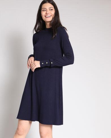 Trui-jurk marineblauw
