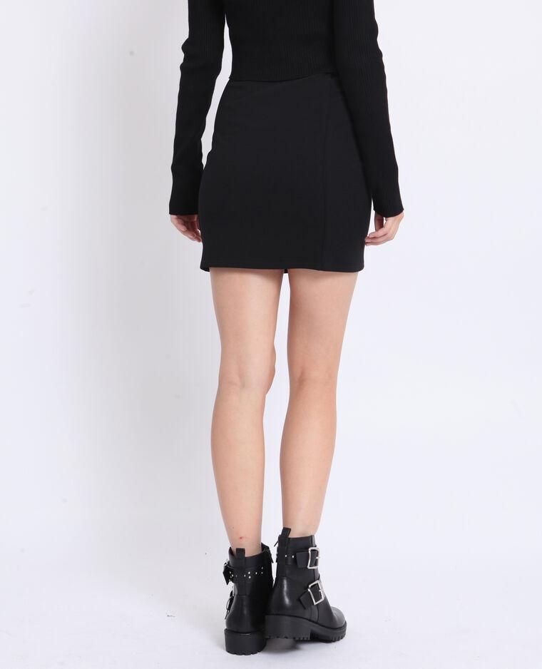 Jupe moulante noir