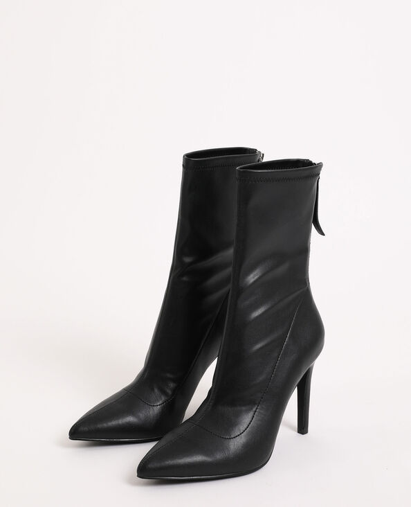Boots pointues noir