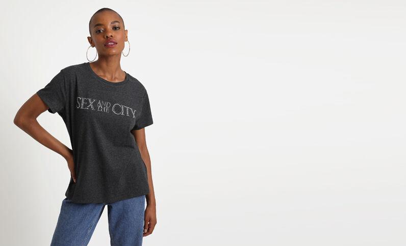 Sex and the City T-shirt zwart