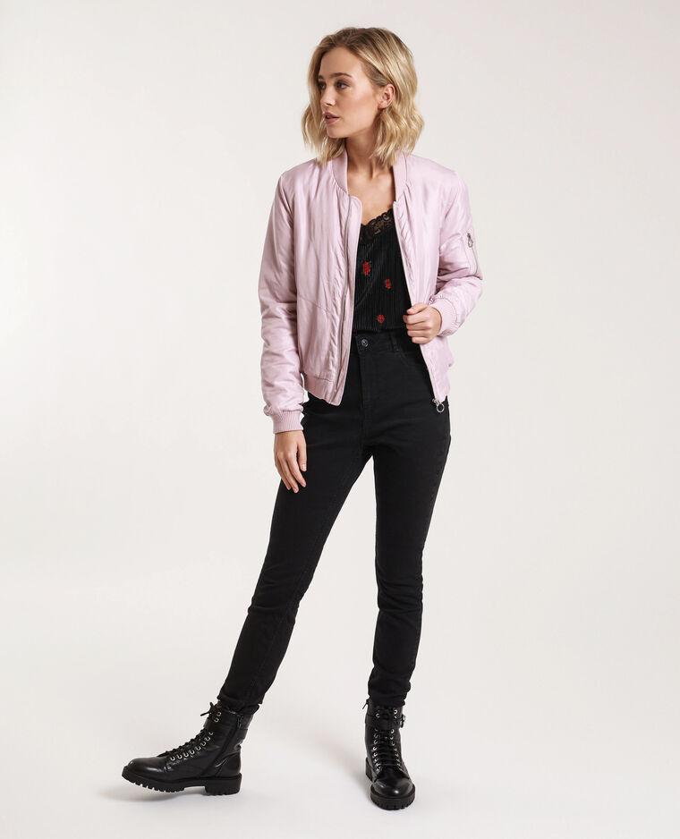 Jean skinny high waist noir
