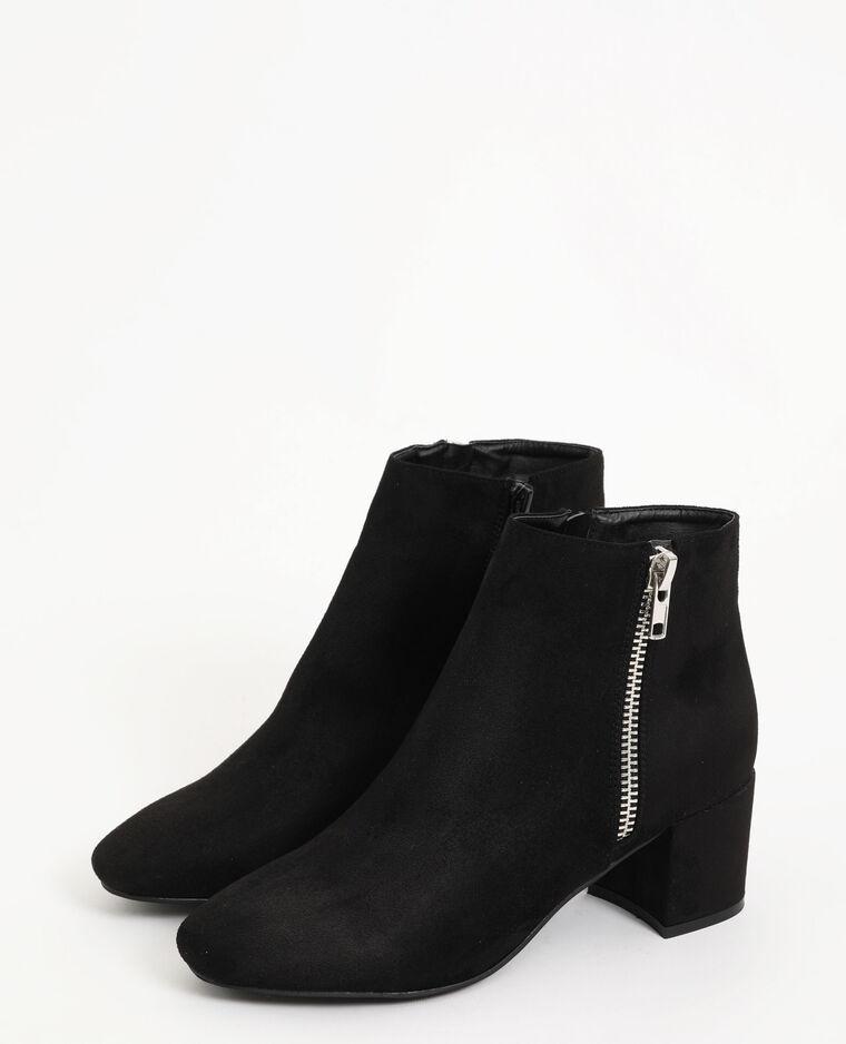 Boots bouts ronds noir