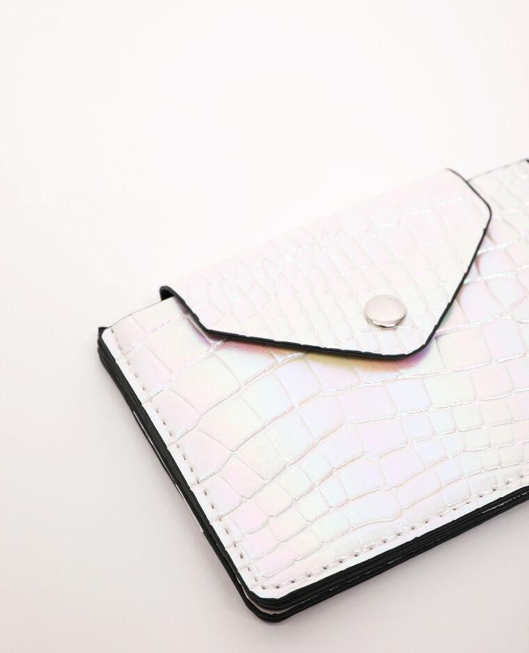 Portemonnee van kunstleer wit - Pimkie