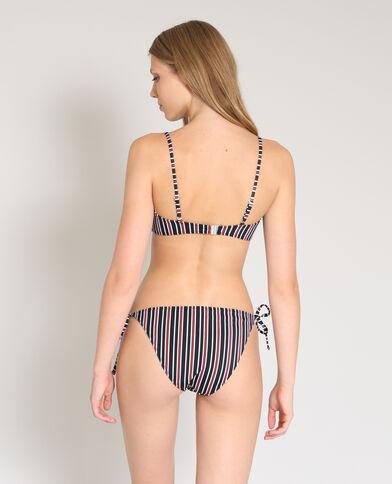 Bandeau-bikinitop zwart