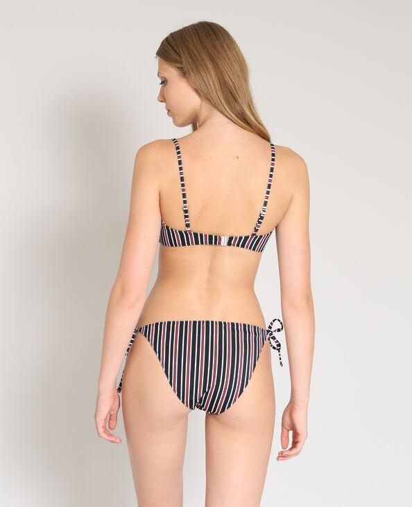 Haut de bikini bandeau noir