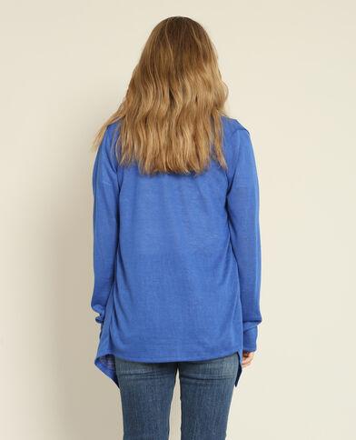 Gilet fin bleu
