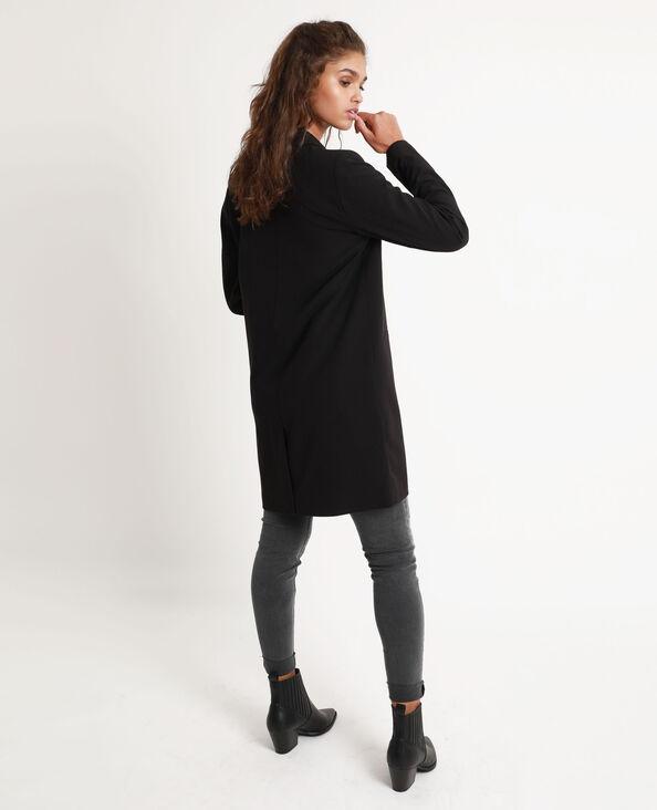 Manteau fluide noir