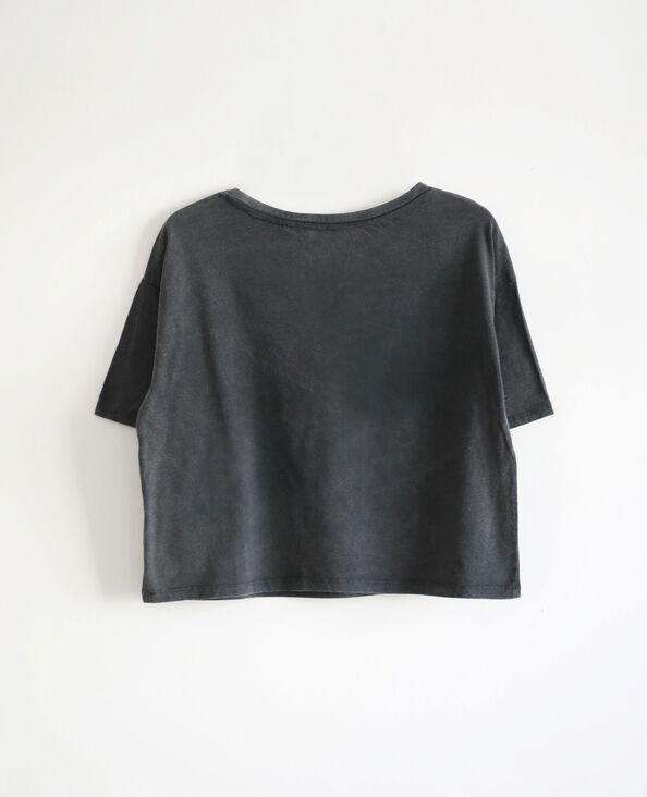 T-shirt AC/DC gris foncé