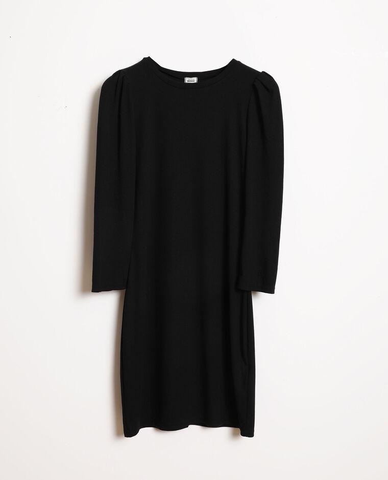 Robe maille fine noir