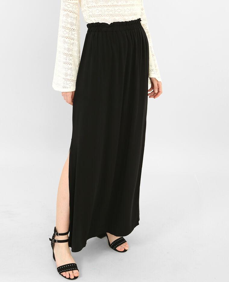 Zeer Lange rok met split zwart - 690348899A08 | Pimkie @BU93