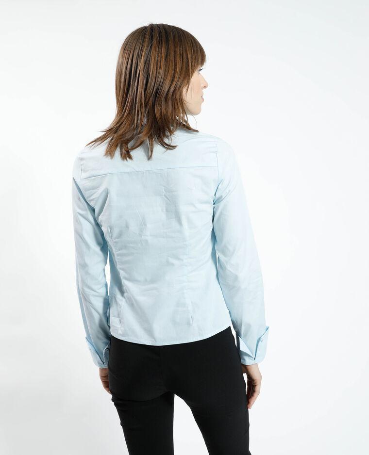 Chemise basique bleu - Pimkie
