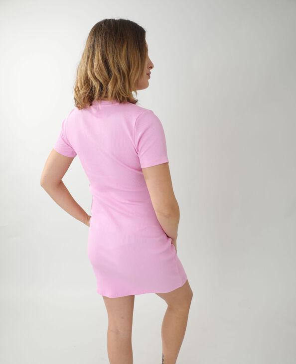 Lange T-shirtjurk roze - Pimkie