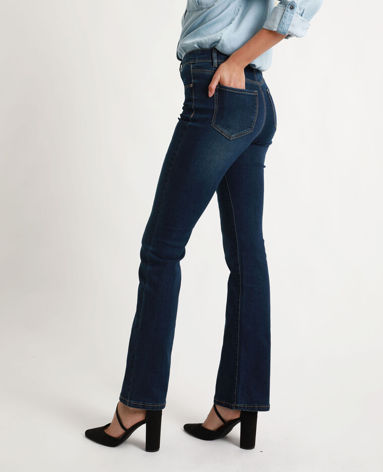 Bootcut jeans donkerblauw