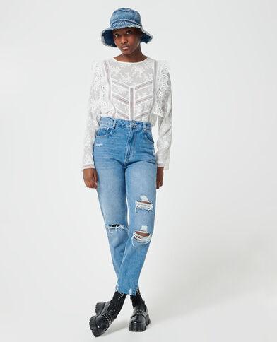Motrashte mom jeans denimblauw - Pimkie