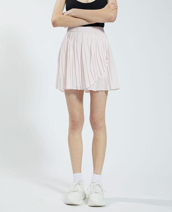 Jupe-short plissée rose - Pimkie