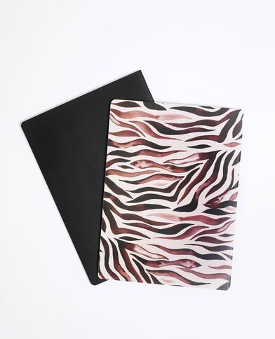 Lot de 2 notebooks rose