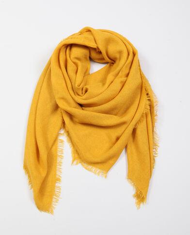 Lichte foulard geel