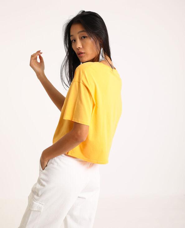 Cropped T-shirt van Pokémon oranje