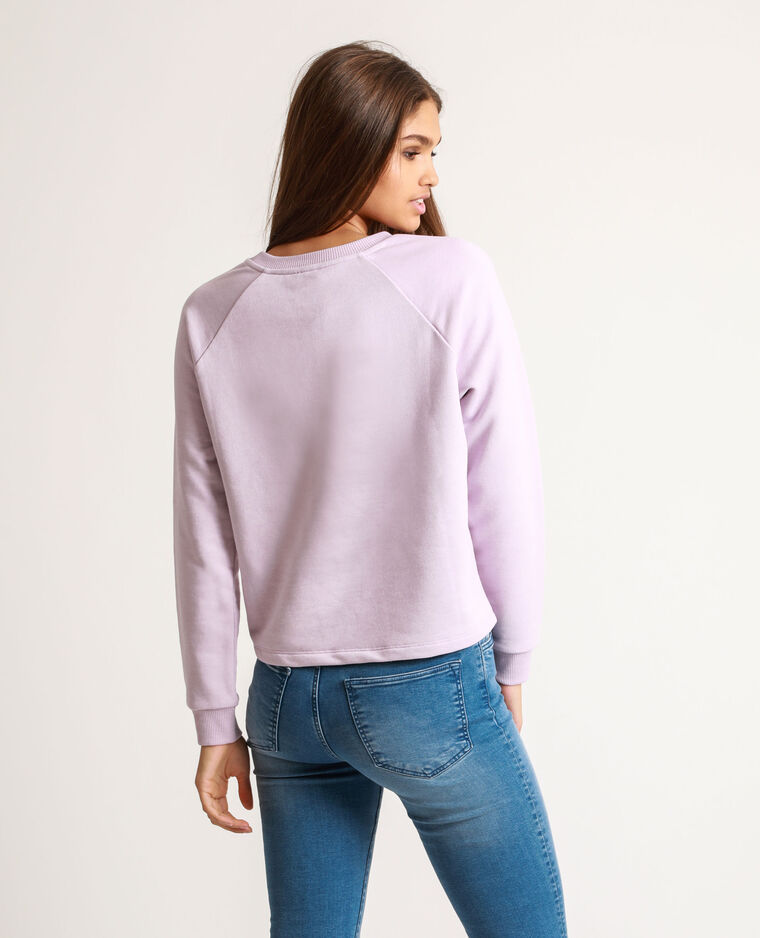 Sweat court lilas