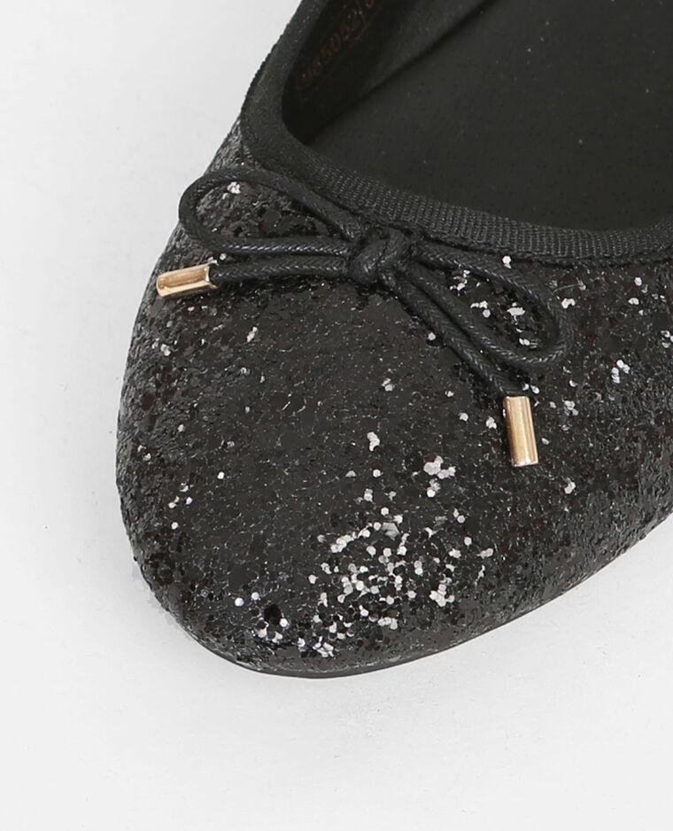Ballerine Paillettes Noir G8fOWx