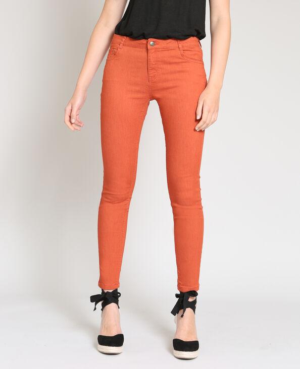 Push-up skinny oranje
