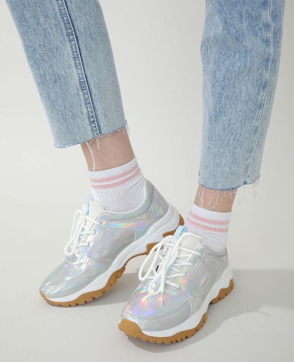 Dad sneakers grijs