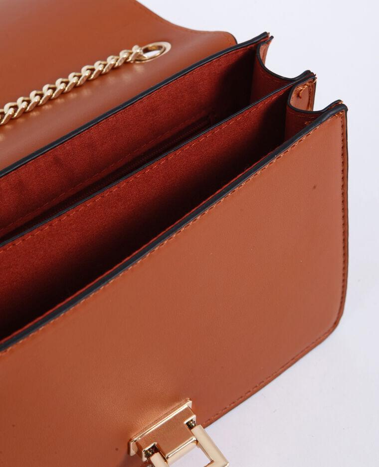 Petit sac à bandoulière marron