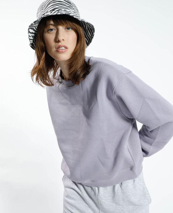 Sweater van molton violet - Pimkie