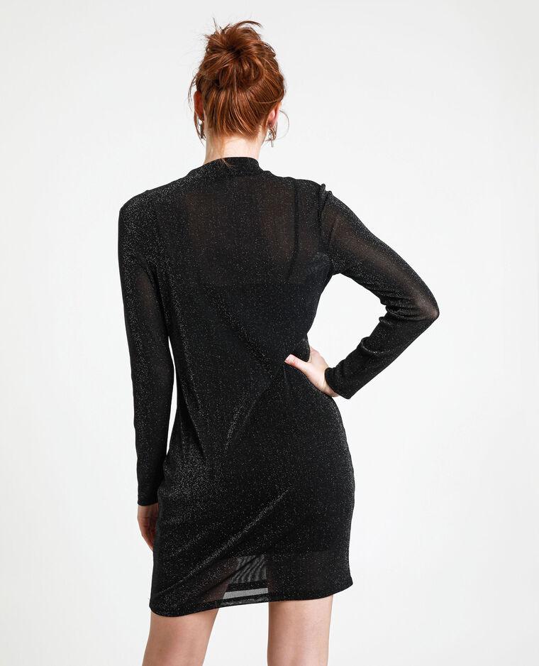 Robe à paillettes noir