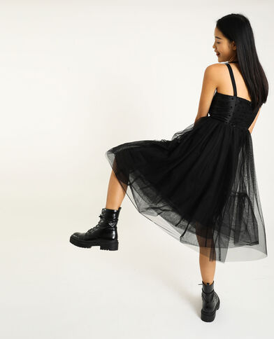 Tutu-jurk zwart
